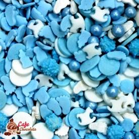 Konfetti Mix Dziecięcy Niebieski 45g