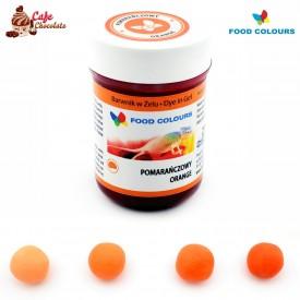 Food Colours Barwnik żel Pomarańczowy 35g