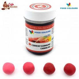 Food Colours Barwnik żel Czerwony Karminowy 35g