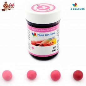 Food Colours Barwnik żel Różowy 35g