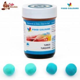 Food Colours Barwnik żel Turkusowy 35g