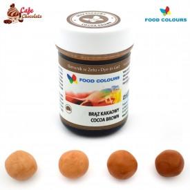 Food Colours Barwnik żel Brąz Kakaowy 35g