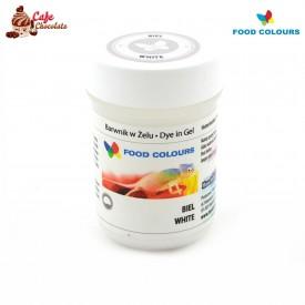 Food Colours Barwnik żel Biały 35g
