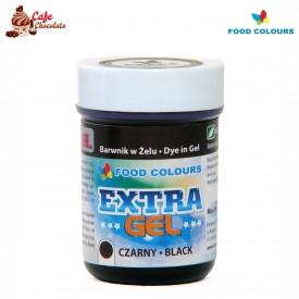 Food Colours Barwnik żel Extra Czarny 35g