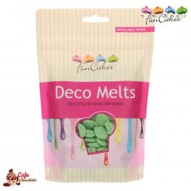 Polewa Zielona Deco Melts 250g FunCakes