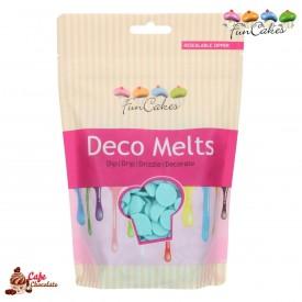 Polewa Błękitna Deco Melts 250g FunCakes