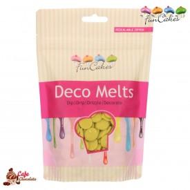 Polewa Limonkowa Deco Melts 250g FunCakes