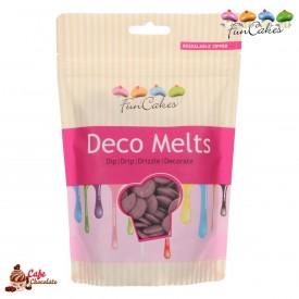 Polewa Fioletowa Deco Melts 250g FunCakes