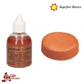 Sugarflair Perłowy Różowe Złoto 60 ml
