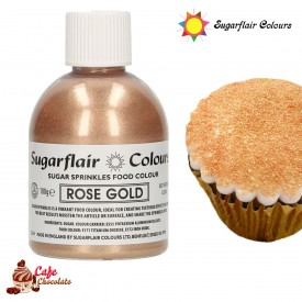 Cukier Dekoracyjny Różowe Złoto Sugarflair