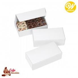 Pudełka na Słodycze Białe 3 szt. Wilton