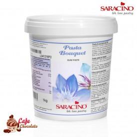 Masa Do Kwiatów Gum Paste Saracino Biała 1kg