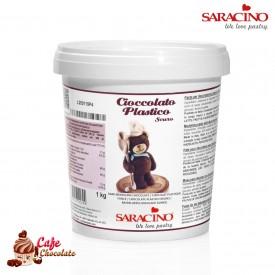 Czekolada Plastyczna Ciemna Saracino 1kg