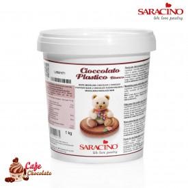 Czekolada Plastyczna Biała Saracino 1kg
